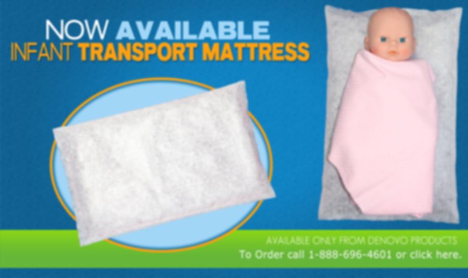 infant transport mattress