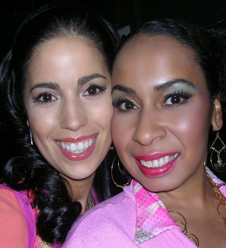 Maria Costa and Ana Ortiz