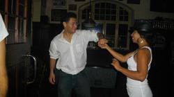 Salsa Dancing in Rota Spain