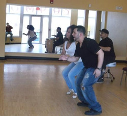 U.S. Tour Rehearsal