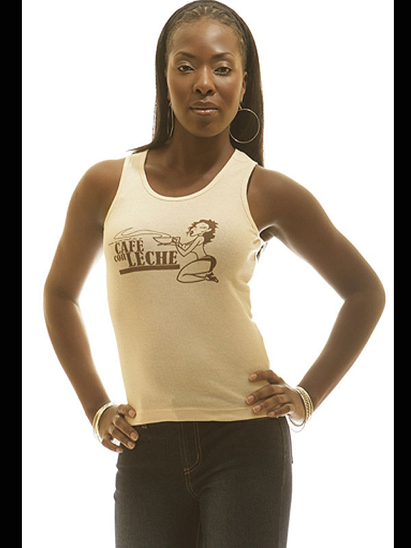 Cafe Con Leche Sleeveless Tee