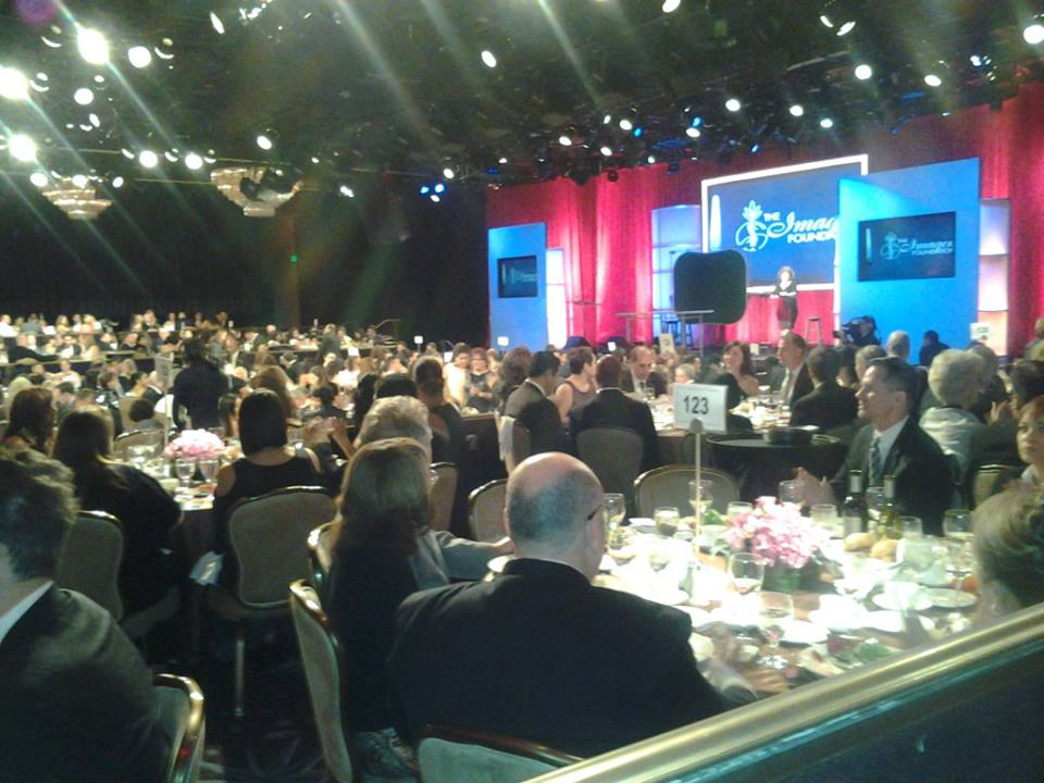 Audience at the Imagen Awards