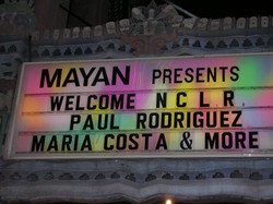 MAYAN Marquee