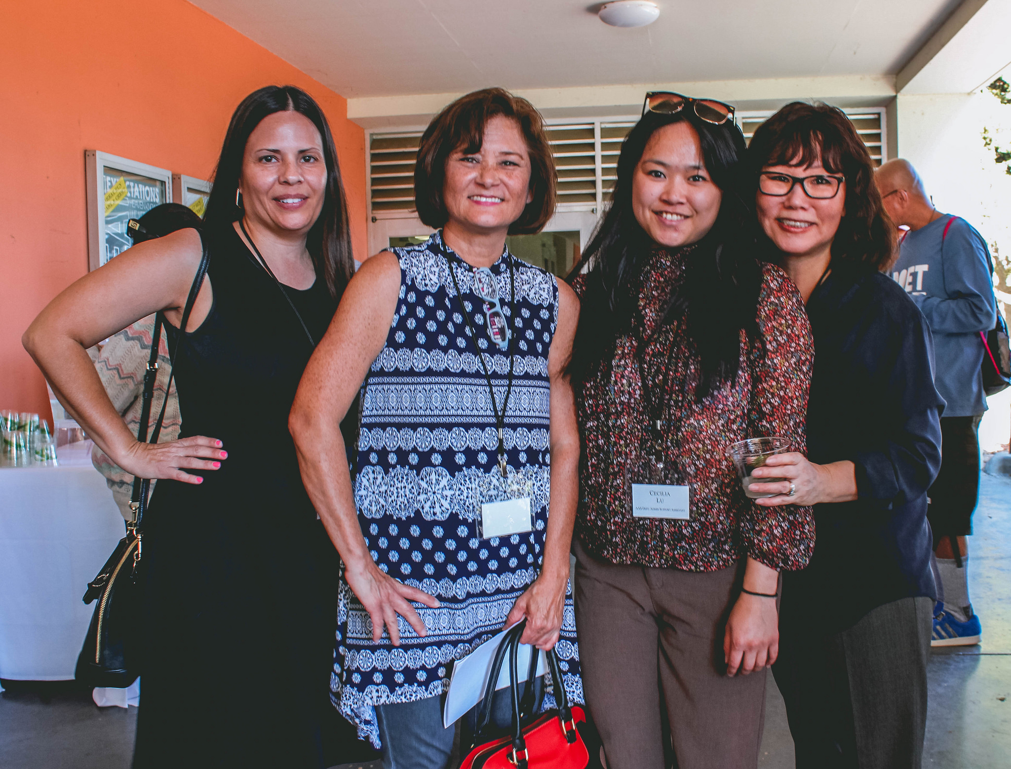 Teresa and the fabulous AAS Team