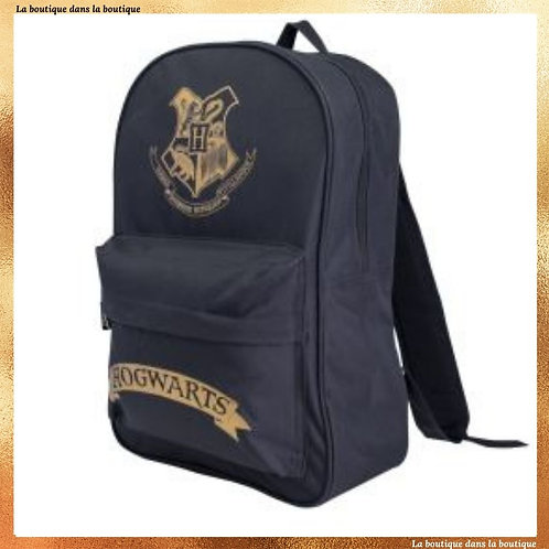 sac a dos poudlard noir harry potter