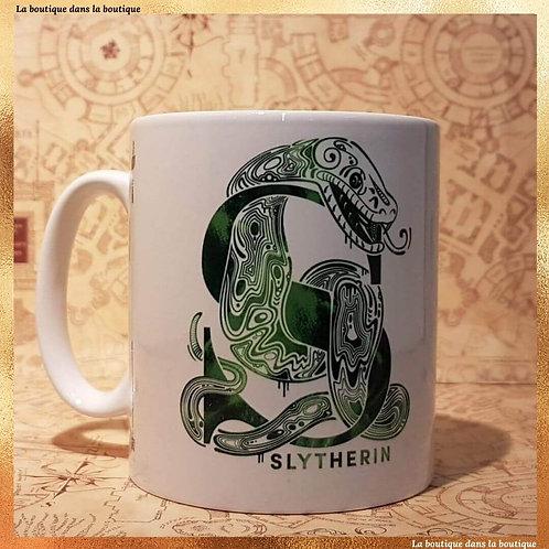 mug serpentard harry potter