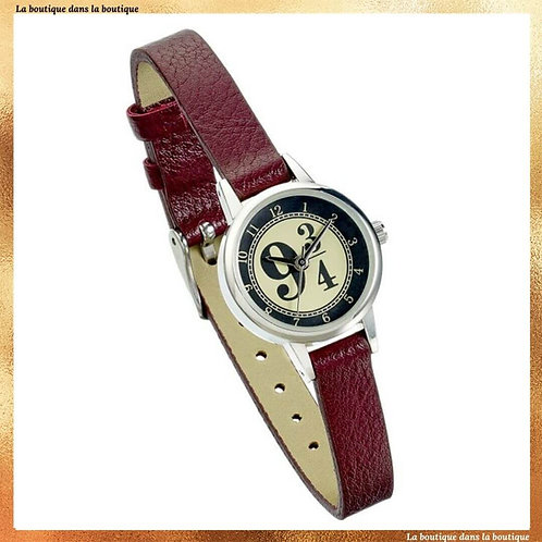 montre harry potter plateforme 9 3/4 hogwarts express