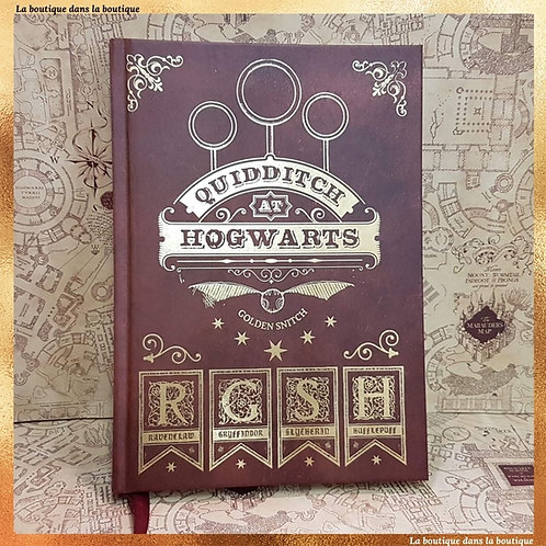 cahier quidditch