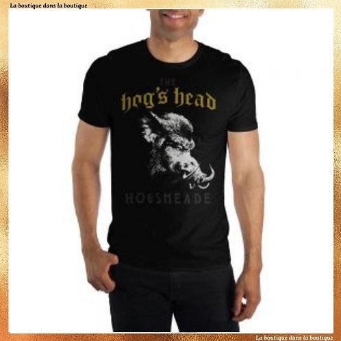 boutique harry potter t-shirt hog's head pré au lard