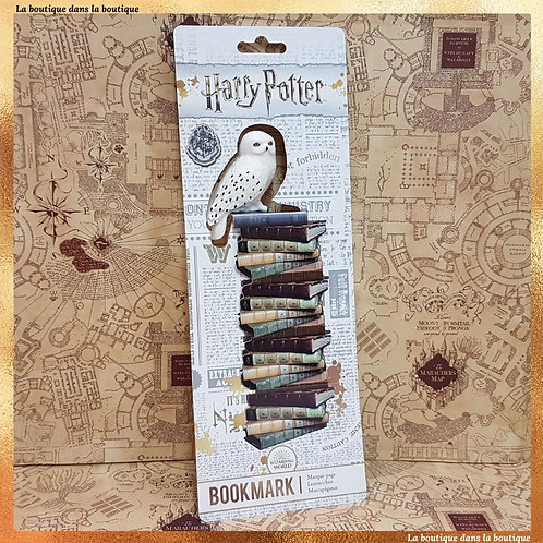 marque page hedwige harry potter