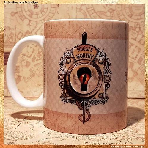 Mug Muggle Worthy Les Animaux fantastiques