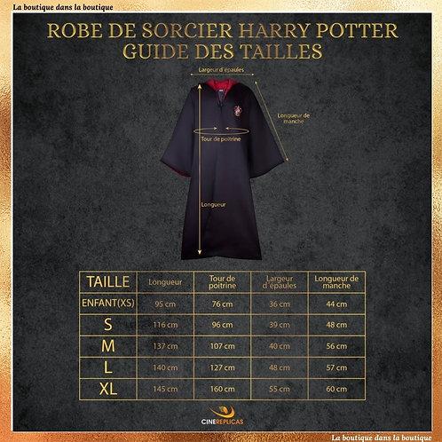 robe de sorcier gryffondor harry potter
