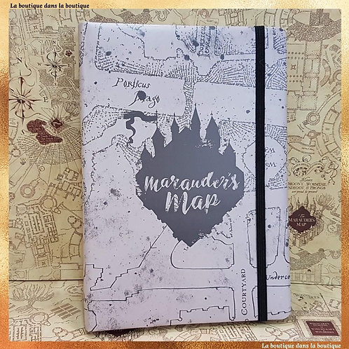 carte du maraudeur carnet doux harry potter