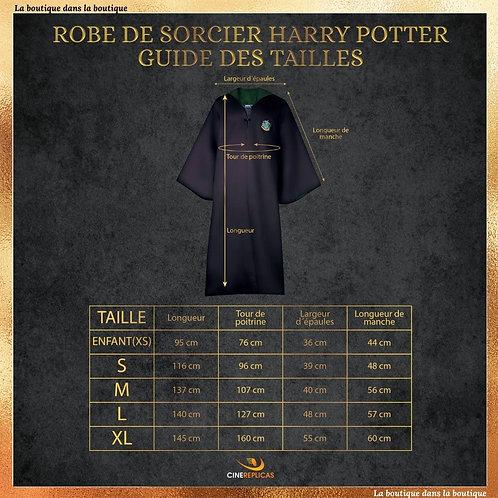 Robe de sorcier Serpentard