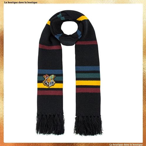 echarpe hogwarts officielle poudlard laine la boutique dans la boutique harry potter