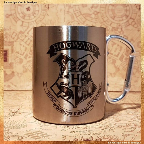 mug poudlard métal harry potter