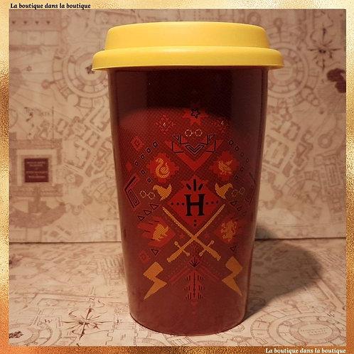 poudlard harry potter mug rouge