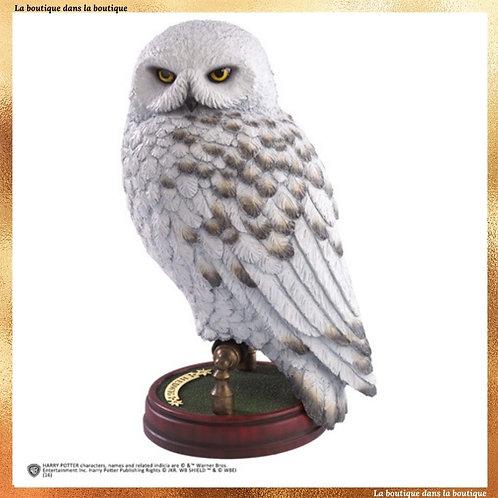 sculpture hedwige noble collection officielle boutique harry potter chouette