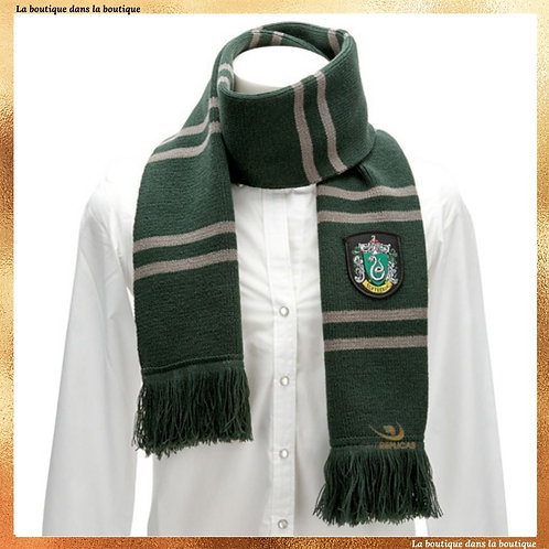 echarpe serpentard drago malefoy harry potter boutique