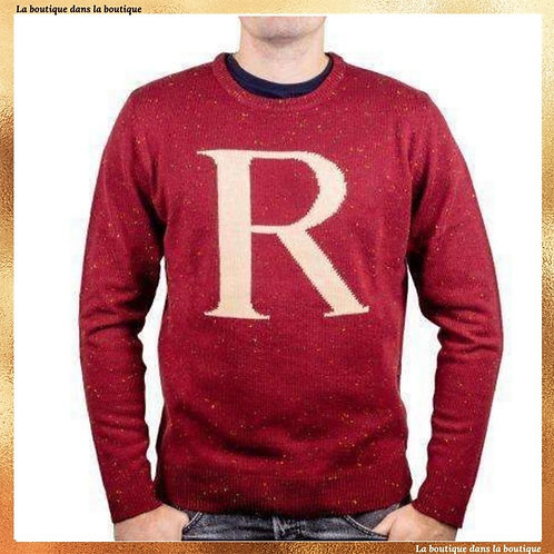 pull noel ron weasley molly rouge la boutique dans la boutique harry potter