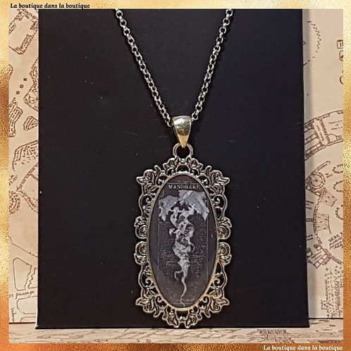 collier mandragore harry potter