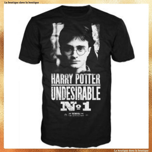 t shirt indesirable n°1 harry potter