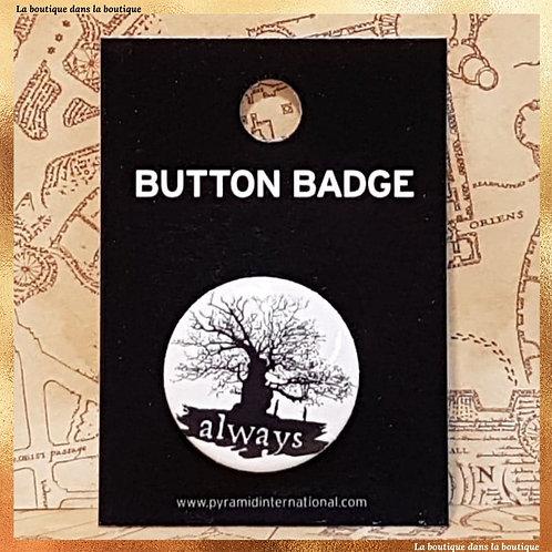 always harry potter severus rogue badge