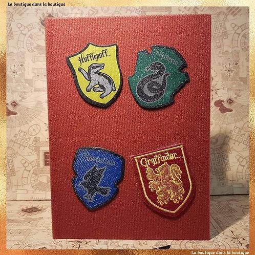 cahier hogwarts scratch
