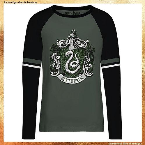T-shirt manche longue Serpentard