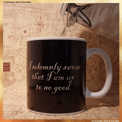 mug thermique carte maraudeur harry potter