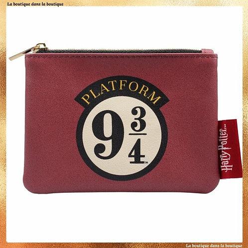 porte monnaie platform 9 3/4 rouge