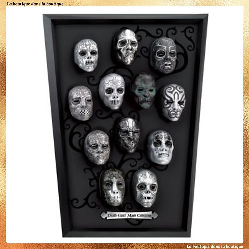 La collection des masques des mangemorts - Noble Collection