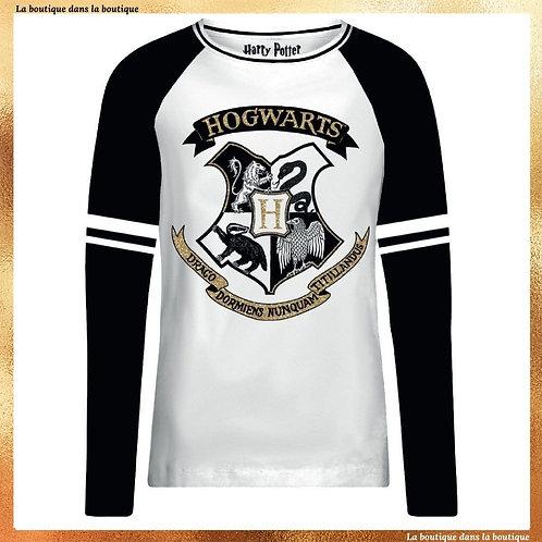 T-shirt manche longue Hogwarts