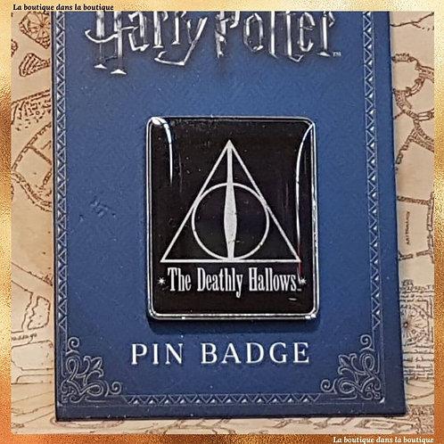 pin's relique de la mort harry potter
