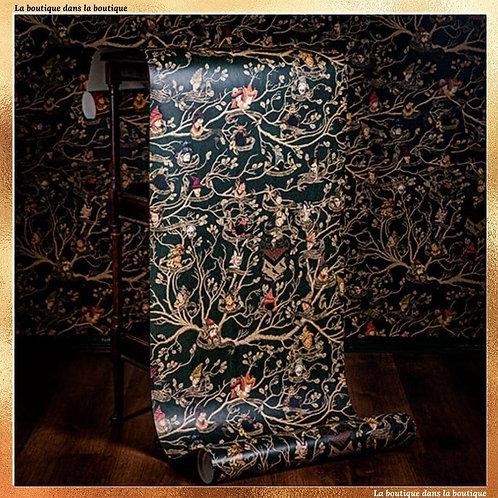 papier peint tapisserie des black Mina Lima Harry Potter