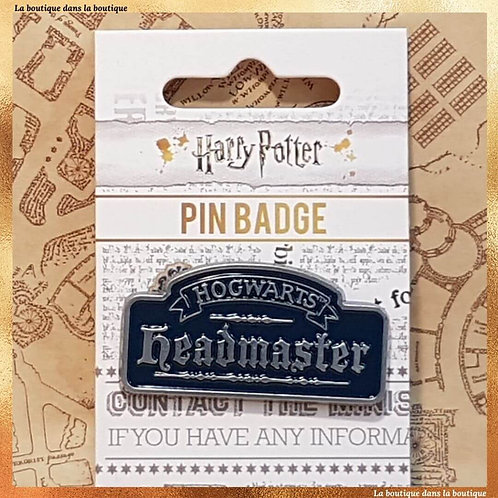 pin's badge headmaster dumbledore harry potter