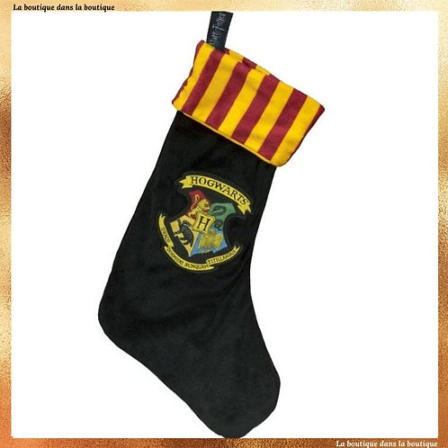chaussette noel poudlard hogwarts