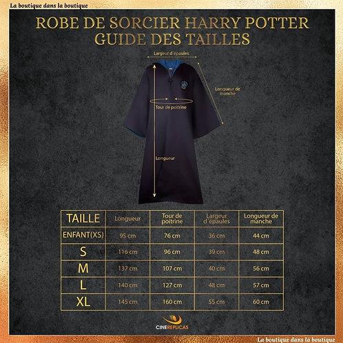 robe de sorcier serdaigle boutique harry potter officielle