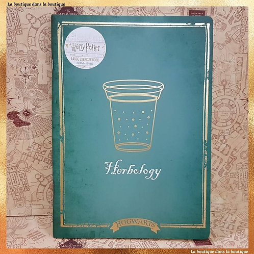 cahier herbology harry potter