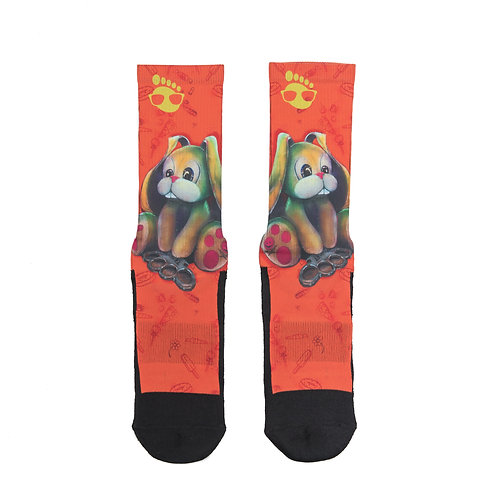 Brass Bunny Sock