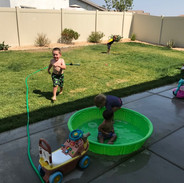 Outside Water Play