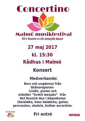 Music festival . Afisha for the concert