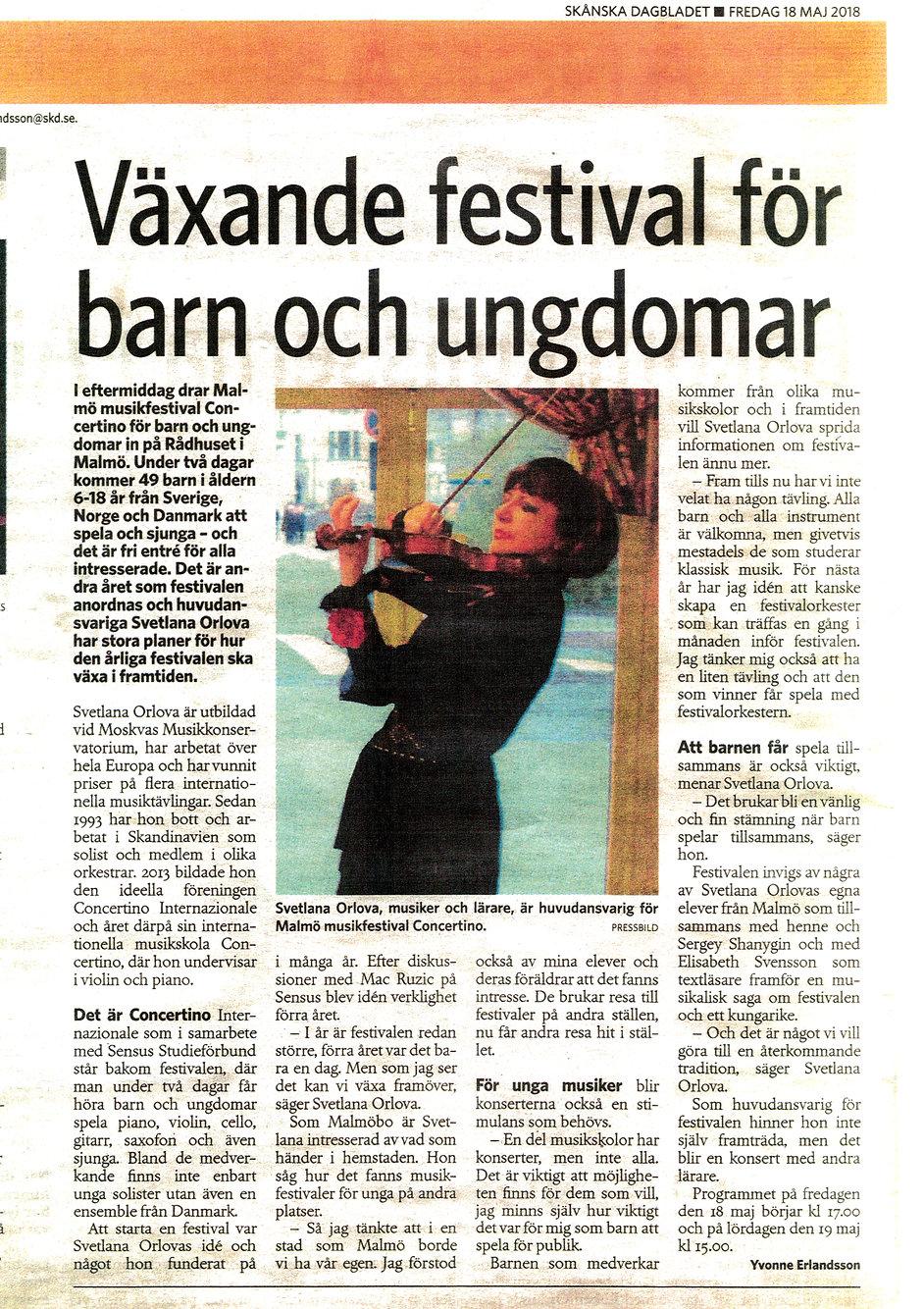 Newspaper about festival 2018..jpg
