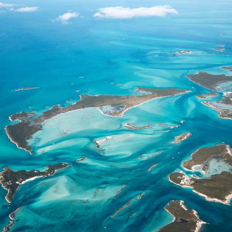 Beautiful Cays and turquoise waters