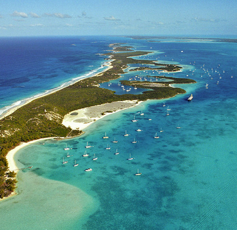 Beautiful Cays