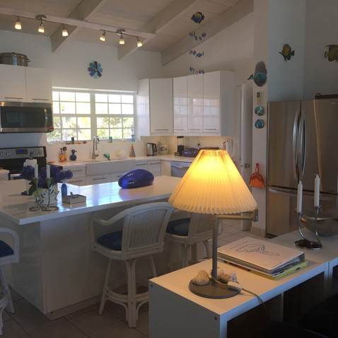 Large kitchen with all amenities