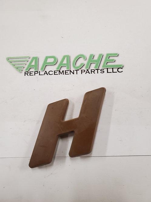 Brown Letter 'H'