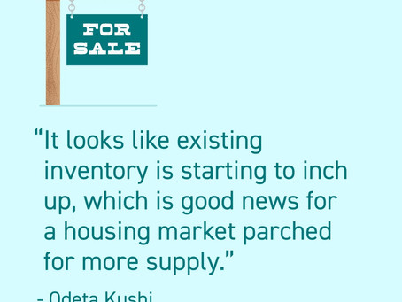 Housing inventory is beginning to return