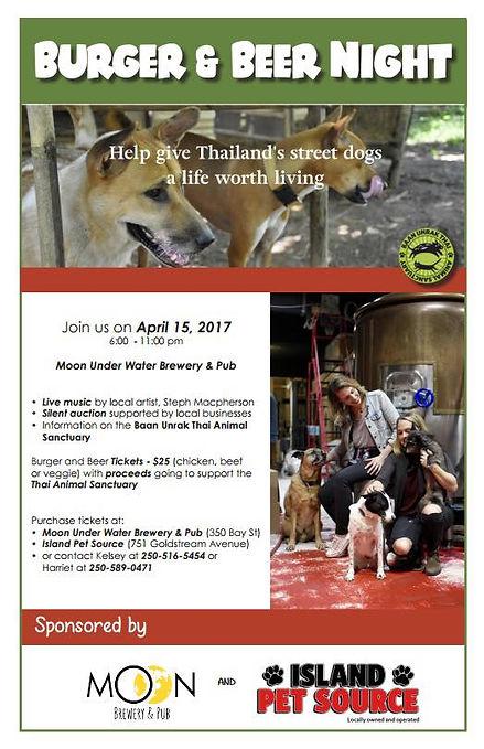 thai animal sanctuary fundraising