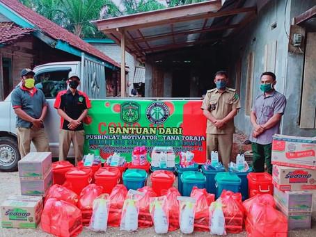 Partisipasi Motivator-GT Kondoran Dalam memutus penyebaran Covid-19 Di Desa Tawakua, Luwu Timur